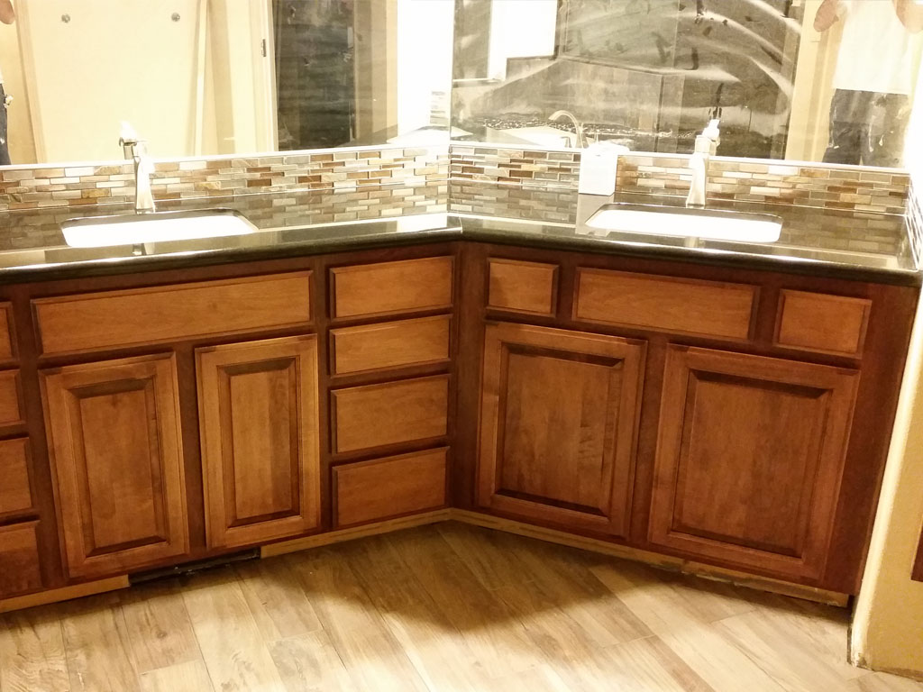 Bathroom Cabinets by High Sierra Woodworking